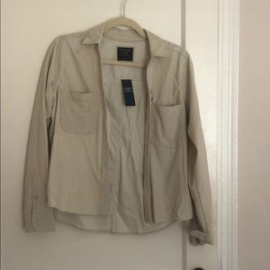 Abercrombie & Fitch courdory button down